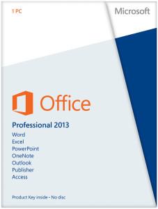 Office 2013 Professional Lizenzkey um 89,90 € - bis zu 77% sparen