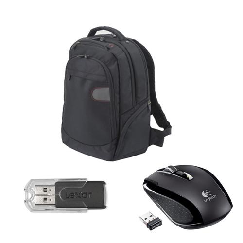 HAMMER: Logitech VX Nano + Laptop Rucksack + 2GB USB-Stick für 33€