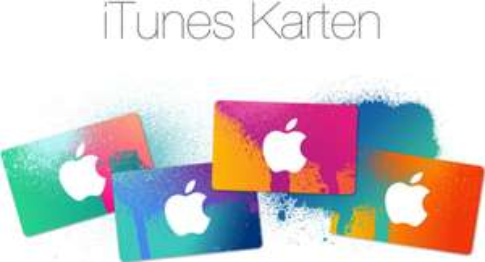 iTunes Karten mit 20% Rabatt bei PayPal