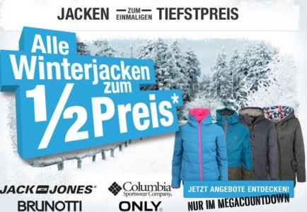 Hervis Sports: 50% auf alle Winterjacken, Winterschuhe und Rucksäcke