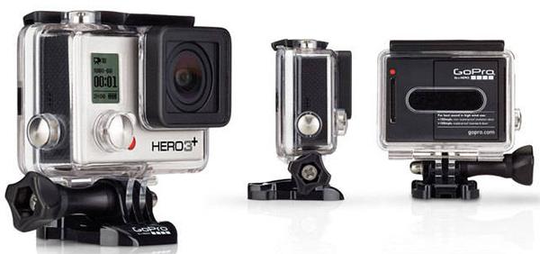 Action-Kamera GoPro Hero3+ Silver Edition für 199 € - 26% Ersparnis
