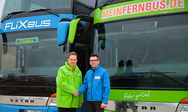 MeinFernbus und Flixbus fusionieren: über 160.000 Schnäppchentickets für je 11 € ab morgen