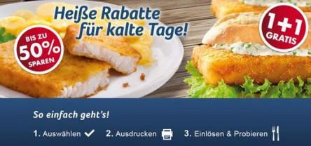 Nordsee: neue Gutscheine für Österreich (gültig bis 7.3.2015) - bis zu 50% sparen