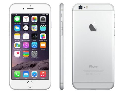 [TOP] iPhone 6 (16 GB, silber) um 535 € - 22% sparen