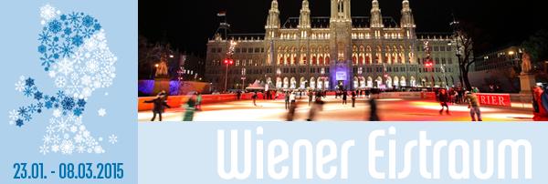 Gratis Eintritt zum 20.Wiener Eistraum - 6,50 € sparen - am 8.3.2015