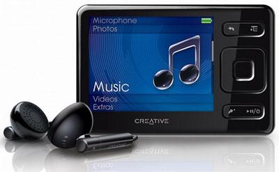 Creative Zen MX FM 8GB für 50€ und 16GB für 66€ *UPDATE*