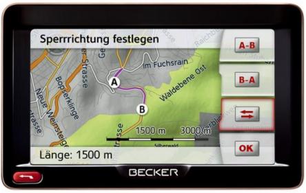 Navigationssystem Becker Ready 50 EU 20 LMU um 89,95 € - bis zu 37% sparen