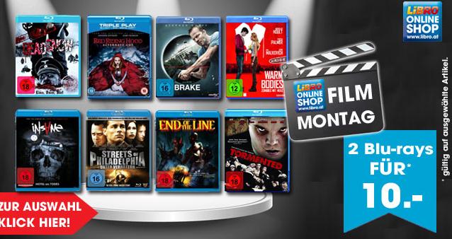 "Libro ""Film Montag"": 2 Blu-rays um 10 €"