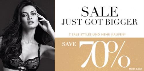 Intimissimi: 70% Sale beim Kauf von 7 Sale Artikel