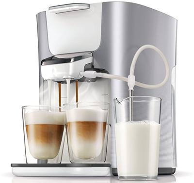 Philips Senseo HD7857/20 Latte Duo-Kaffeepadmaschine für 129 € - 20% sparen