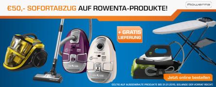 Saturn Österreich: 50 € Cashback auf ausgewählte Rowenta Produkte - bis zu 25% sparen