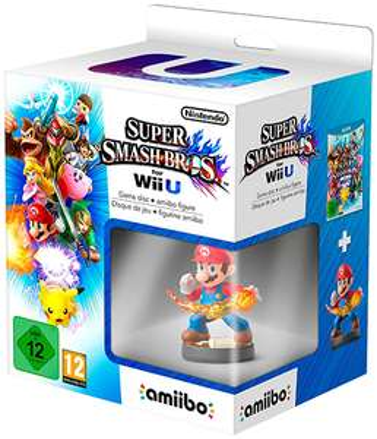 Super Smash Bros. (Wii U) + amiibo-Figur für 39,99 € - 30% sparen