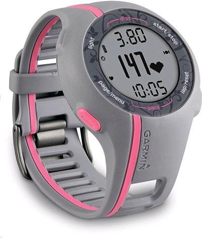 GPS-Laufuhr Garmin Forerunner 110 HRW mit Brustgurt für 99 € - 29% sparen