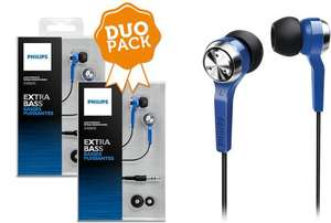 2er-Pack In-Ear-Ohrhörer Philips SHE8500BL für 17,90 € - 25% sparen