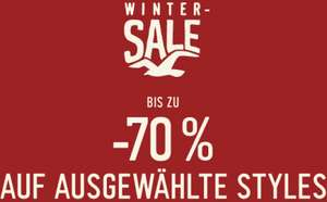 Winter Sale bei Hollister: bis zu 70% in den Shops & online