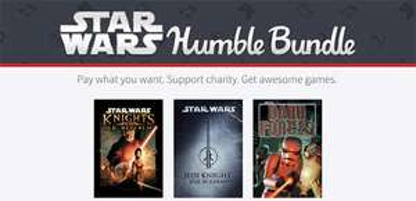 Star Wars Humble Bundle mit bis zu 12 Spielen ab 0,87 € *Update*