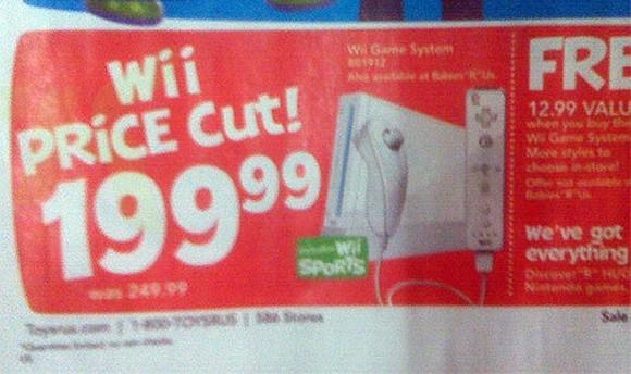Nintendo Wii ab 2. Oktober für 199€ *UPDATE*