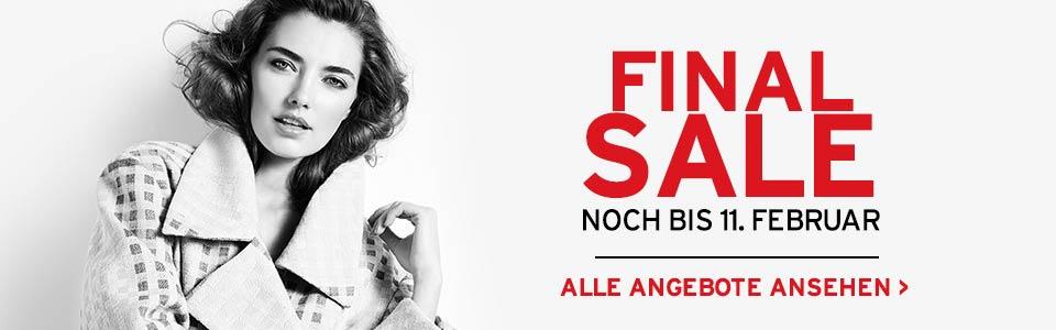 Designer Outlet Parndorf: Final-Sale bis 11.2.2015 - bis zu 70% sparen