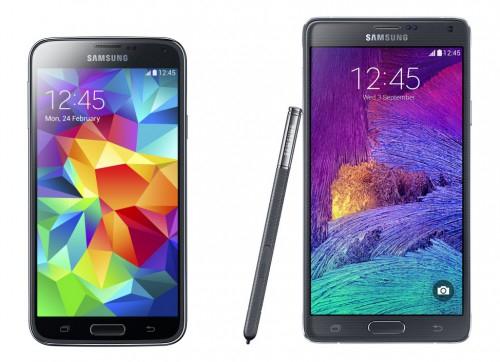Saturn Wien: Samsung S5 (379 €) und Samsung Note 4 (599 €) - bis zu 11% sparen