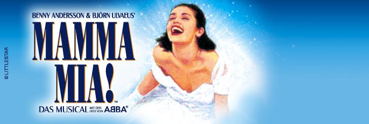"""50% Rabatt auf Karten für das Musical """"Mamma Mia"""""""