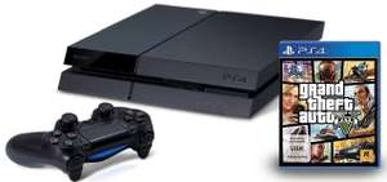 PlayStation 4 (500 GB) + GTA 5 um 399 € - bis zu 11% sparen