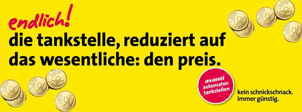 Avanti: Tanken um 60 Cent/Liter (Benzin oder Diesel) - 3 Sonntage ab 04.10.2015 - an ausgewählten Tankstellen
