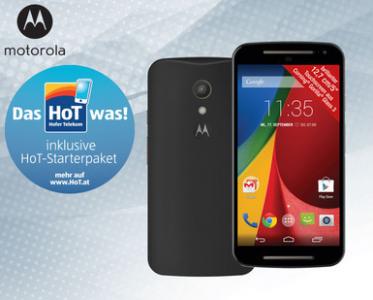 Motorola Moto G 2. Generation inkl. HoT-Starterpaket für 136,77 € - bis zu 23% sparen