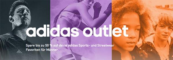 Adidas: 20% Extra-Rabatt auf bereits reduzierte Artikel im Outlet