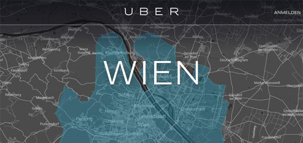 25 € für die erste Fahrt mit Uber in Wien kostenlos für Kunden von 3