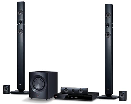 5.1 Blu-ray-Heimkinosystem LG BH7430PB für 271 € - 15% Ersparnis