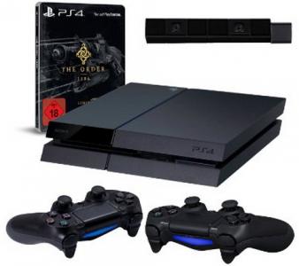 Playstation 4 Bundle: Konsole, 2 Controller, Kamera und The Order 1886 um 449 € – bis zu 13% sparen