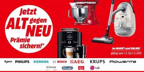 """Media Markt: """"Alt gegen Neu"""" - bis zu 200 € sparen"""