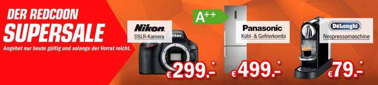 Redcoon Supersale: 3 Angebote vom 2.3.2015
