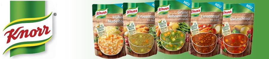 [Top!] Täglich 1 Knorr Produkt (6er Pack) völlig kostenlos bei Amazon - täglich 11 € sparen