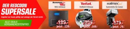Redcoon Supersale zB. Lenovo Iomega ix4-300d für 129€
