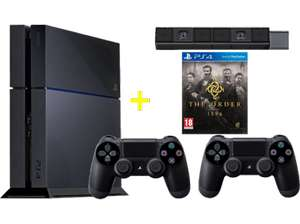 PlayStation 4 + The Order: 1886 + 2 DualShock 4 Wireless Controller + Kamera für 399€ @ Mediamarkt.at