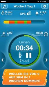 """""""Lauftraining 5 km Pro"""" kostenlos für iOS - 4,99 € sparen"""
