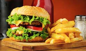 (Top!) Le Burger: 2x Burger mit Toppings + Fries um 8,80 € - 50% sparen
