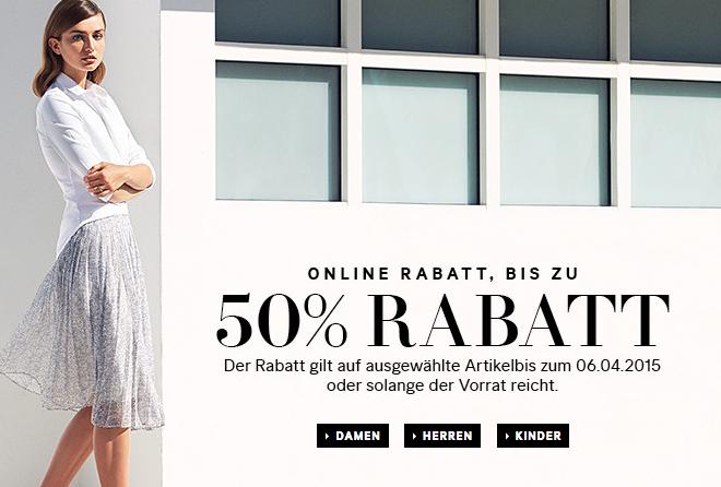 H&M: Bis zu 50% Rabatt auf ausgewählte Artikel + kostenloser Versand
