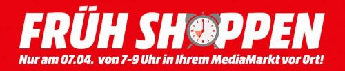 Media Markt Früh Shoppen am 7. April 2015 von 7 - 9 Uhr - Alle Angebote im Preischeck