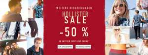 Sale bei Hollister: bis zu 50% in den Shops & online