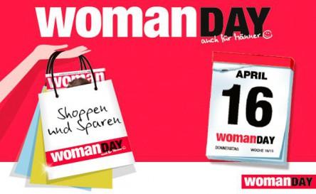 Heute ist Woman Day! Bis zu 60% sparen! Natürlich auch für Männer!