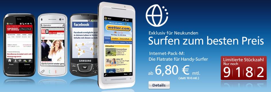 o2o mit Internet-Pack-M für monatlich 6,80€ *UPDATE*