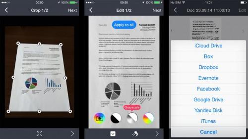 Fine Scanner Pro: Scanner (PDF und JPEG) mit Texterkennung (OCR) um 1,99 € - 80% sparen