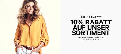 H&M: 10% Rabatt auf Alles + 25% auf Wahlartikel