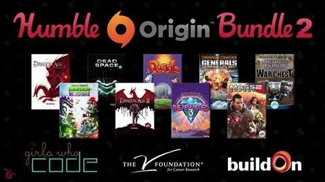 Humble Origin Bundle 2 - Bis zu 9 Spiele ab 0,94€ - bis zu 97% sparen!
