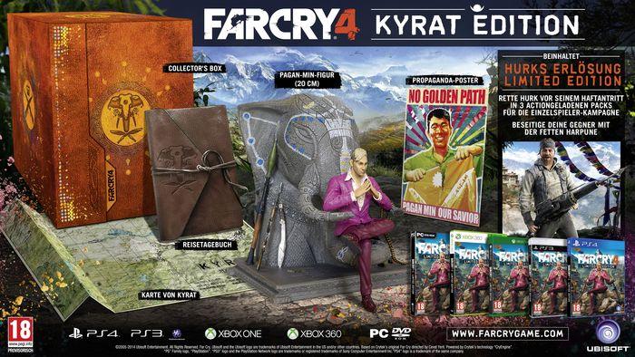 Libro: Far Cry 4 Kyrat Edition (PlayStation 4 / Xbox One) für 39,99€ - Ersparnis von 33%