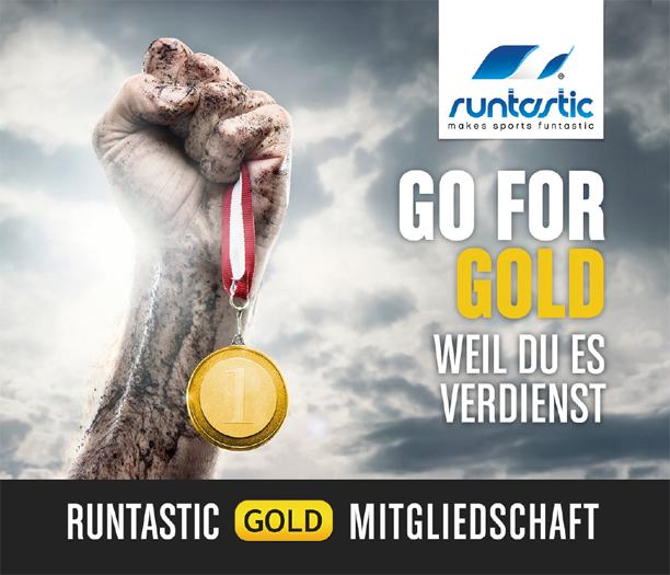 Runtastic Gold Mitgliedschaft 3 Monate komplett kostenlos! - Ersparnis von 19,90€