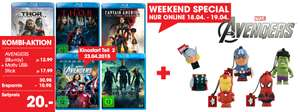 Libro Weekend Special - Marvel Avengers Blu-ray + Motiv USB Stick für 15€