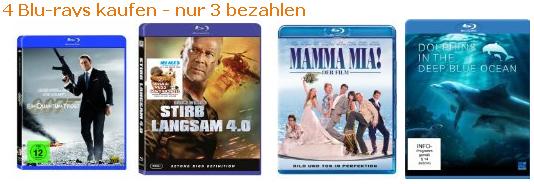 Schnäppchenübersicht - Filme, Games, Musik
